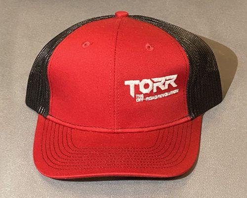 Torr Hat Red & Black