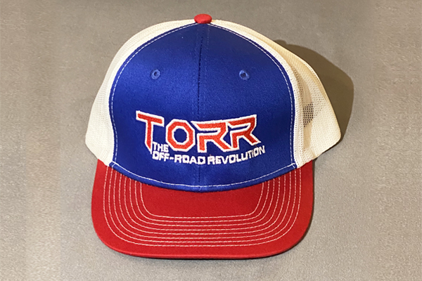 Torr Hat Red White & Blue