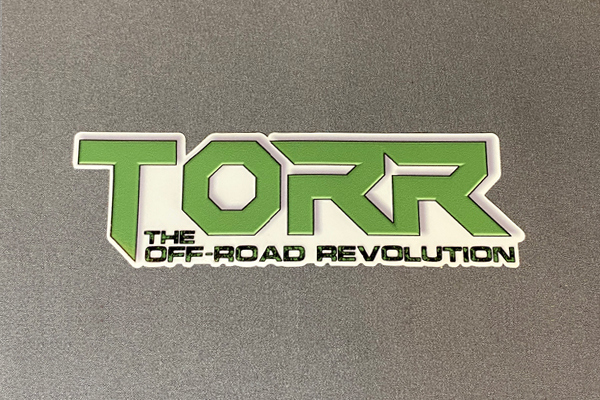 "TORR Solid Green 6"" Decal"