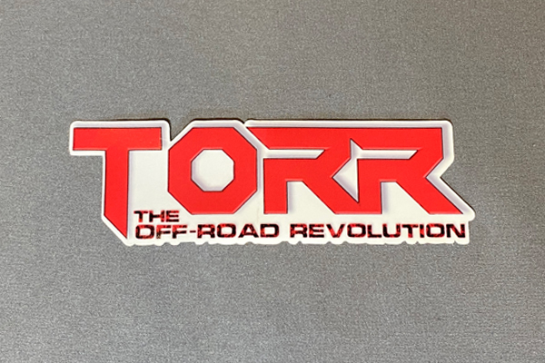 """TORR Solid Red 6"""" Decal"""