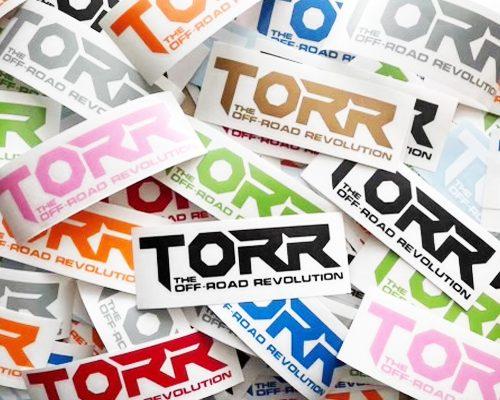 """6"""" TORR Diecut Decals"""