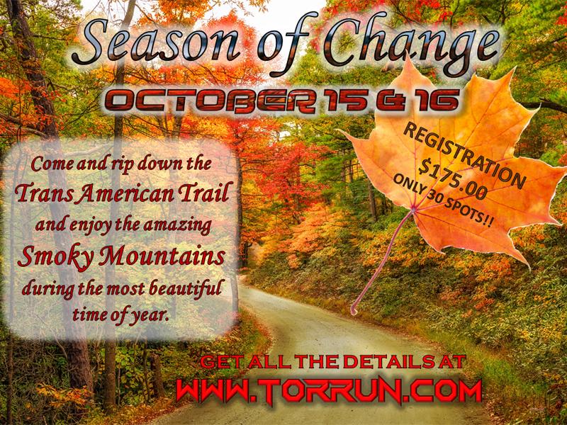 October Season of Change